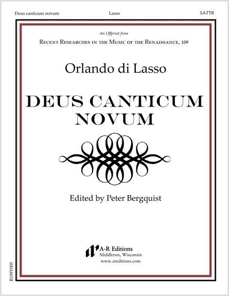 Lasso: Deus canticum novum