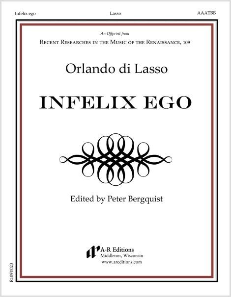 Lasso: Infelix ego
