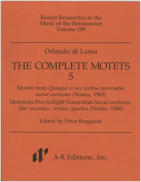 Lasso: Complete Motets 5