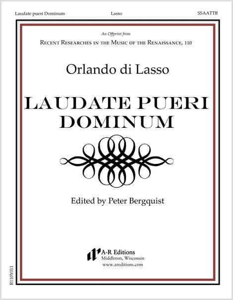 Lasso: Laudate pueri Dominum