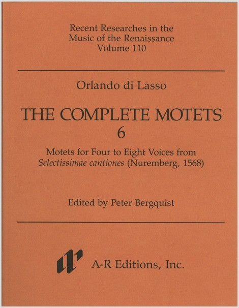 Lasso: Complete Motets 6