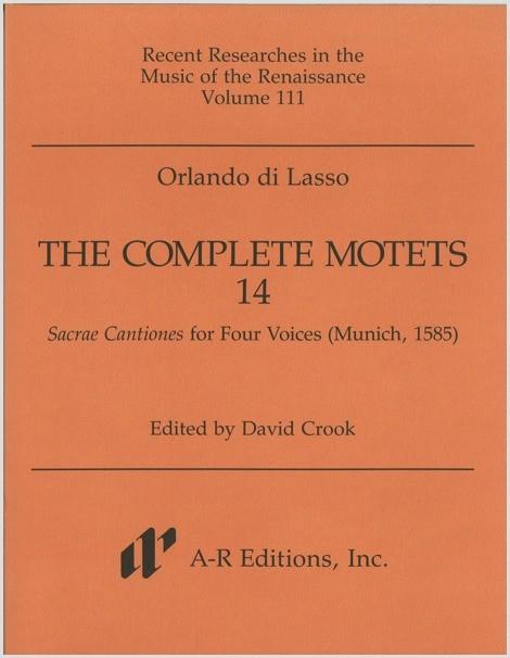 Lasso: Complete Motets 14