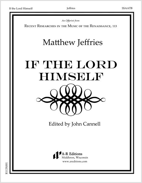 Jeffries: If the Lord Himself