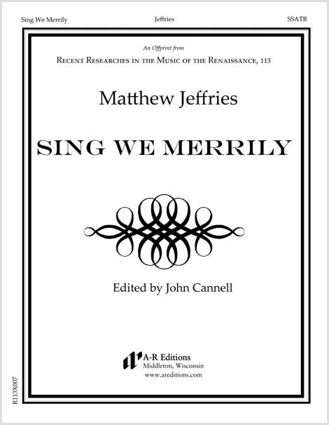Jeffries: Sing We Merrily