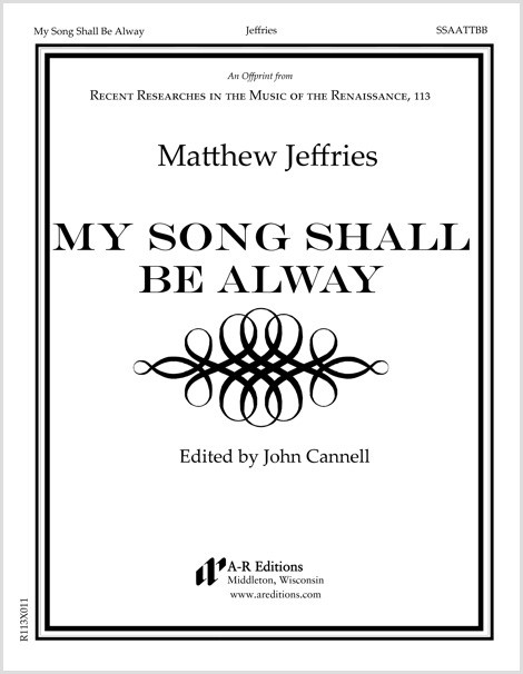 Jeffries: My Song Shall Be Always