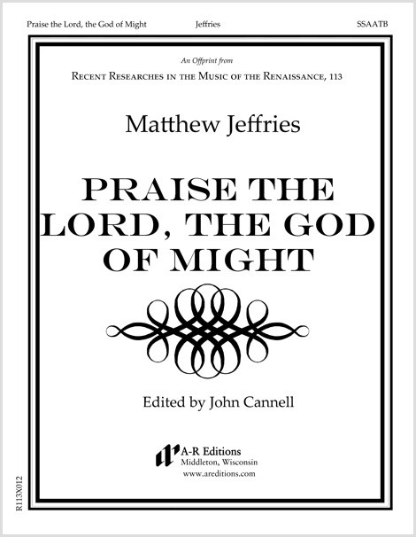 Jeffries: Praise the Lord, the God of Might