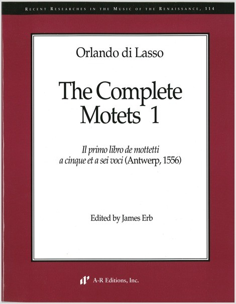 Lasso: Complete Motets 1