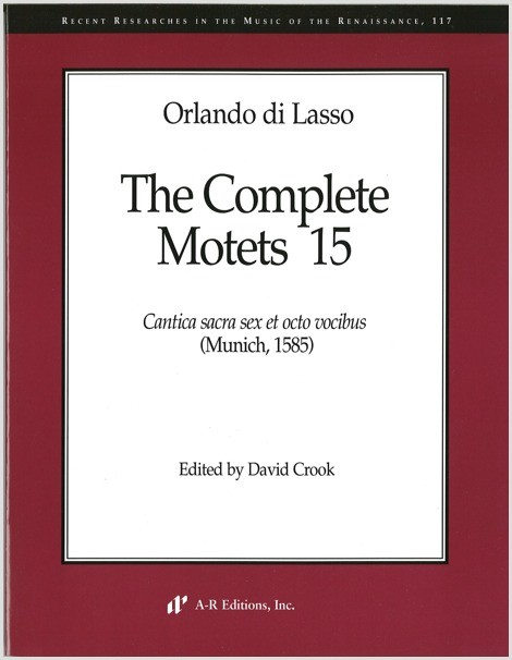Lasso: Complete Motets 15