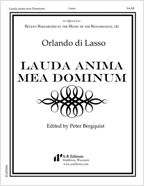 Lasso: Lauda anima mea Dominum