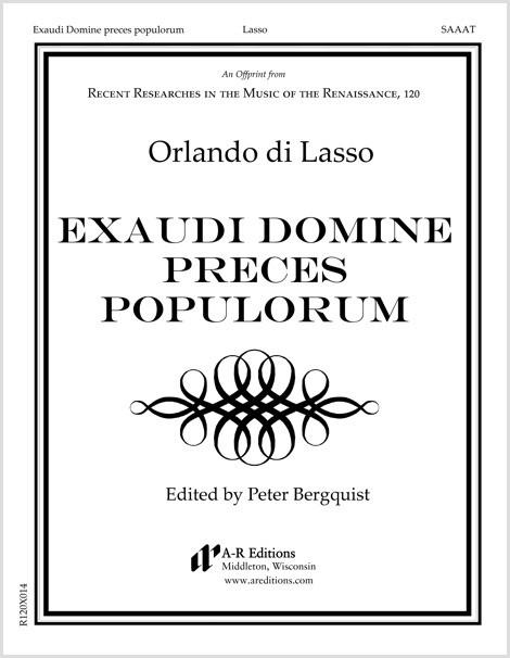 Lasso: Exaudi Domine preces populorum