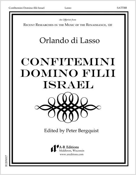 Lasso: Confitemini Domino filii Israel