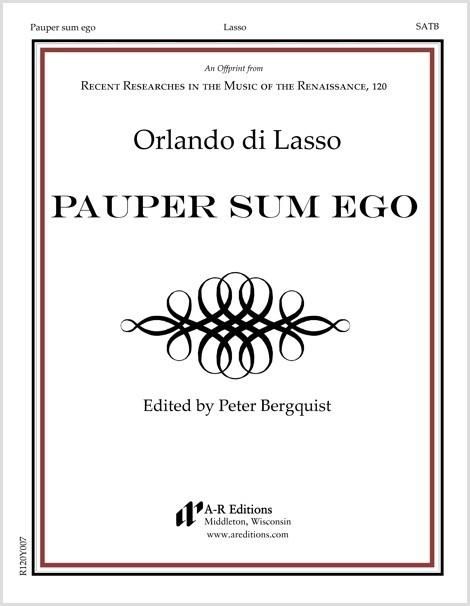 Lasso: Pauper sum ego