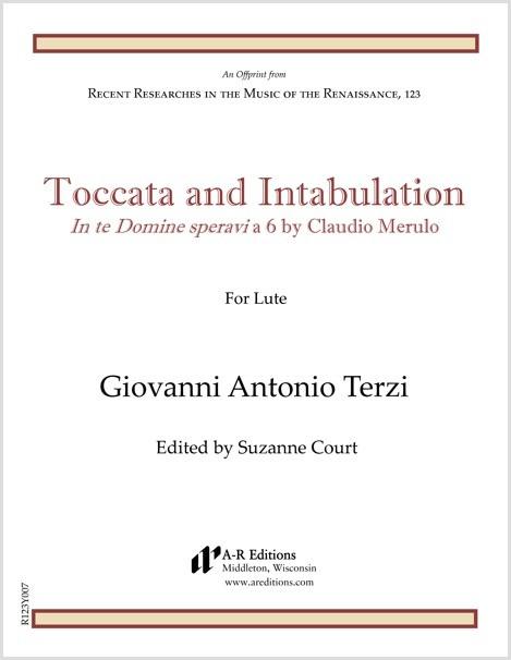 Terzi: Toccata and Intabulation