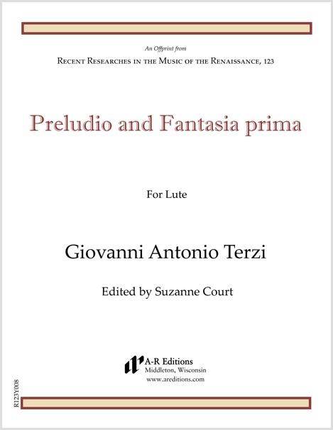 Terzi: Preludio and Fantasia prima