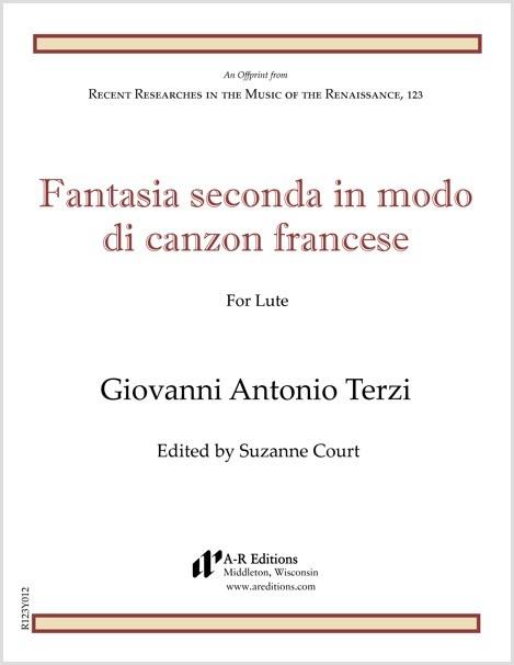 Terzi: Fantasia seconda in modo di canzon francese