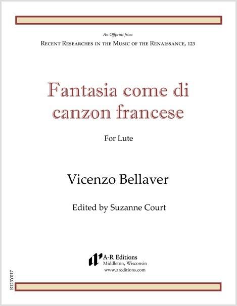 Bellaver: Fantasia come di canzon francese
