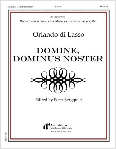 Lasso: Domine, Dominus noster