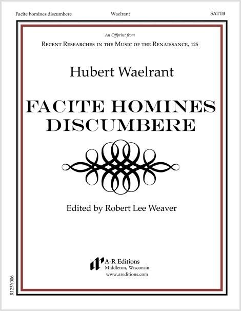 Waelrant: Facite homines discumbere