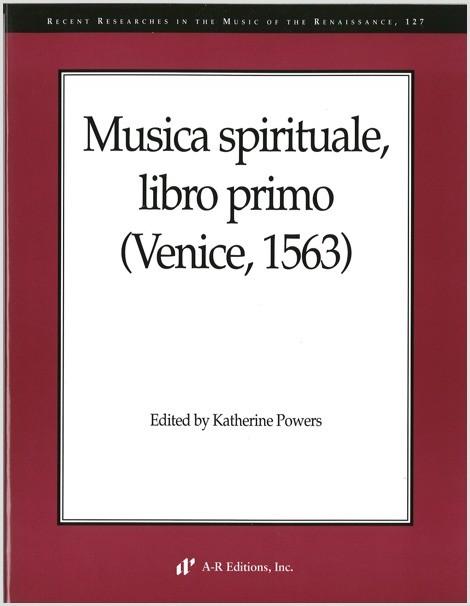 Musica spirituale, libro primo (Venice, 1563)