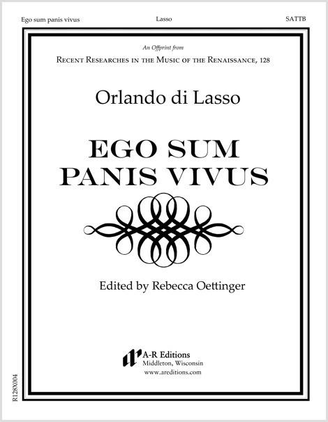Lasso: Ego sum panis vivus