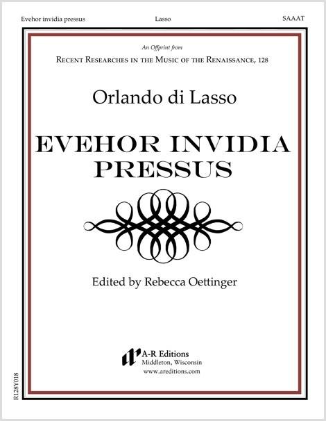 Lasso: Evehor invidia pressus