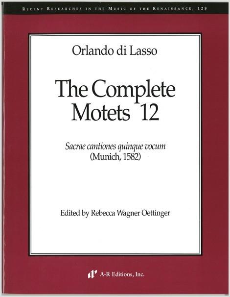 Lasso: Complete Motets 12