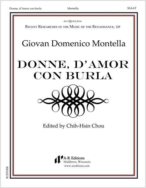 Montella: Donne, d'Amor con burla