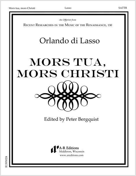 Lasso: Mors tua, mors Christi