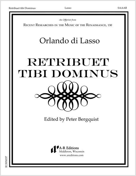 Lasso: Retribuet tibi Dominus