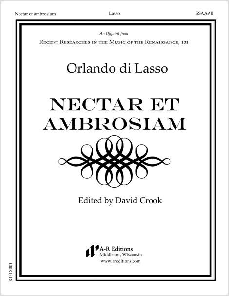 Lasso: Nectar et ambrosiam