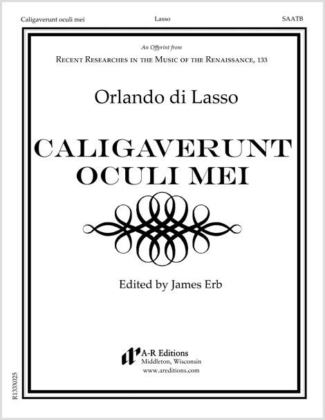Lasso: Caligaverunt oculi mei