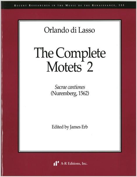 Lasso: Complete Motets 2