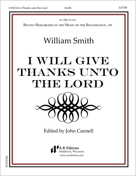 Smith: I Will Give Thanks unto the Lord