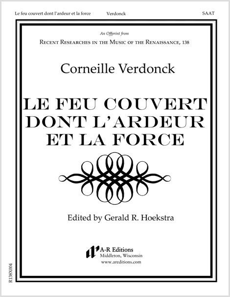Verdonck: Le feu couvert dont l'ardeur et la force