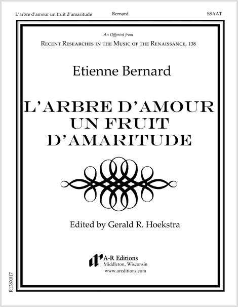 Bernard: L'arbre d'amour un fruit d'amaritude