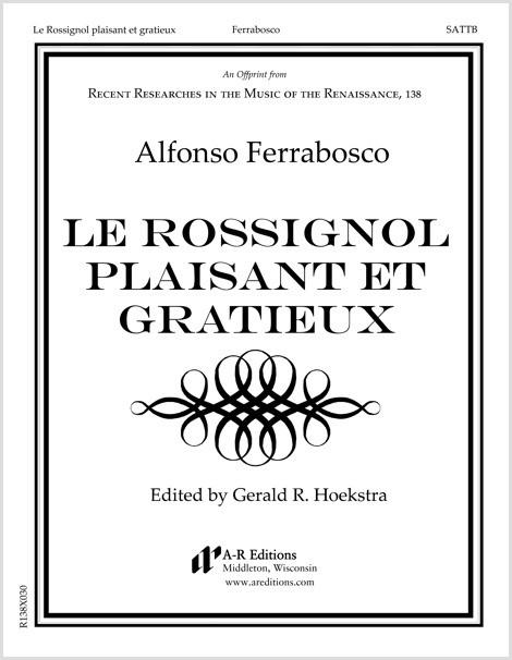 Ferrabosco: Le Rossignol plaisant et gratieux