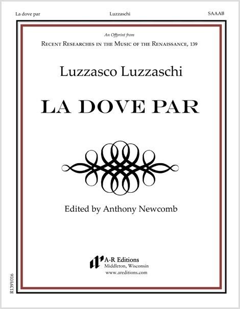 Luzzaschi: La dove par