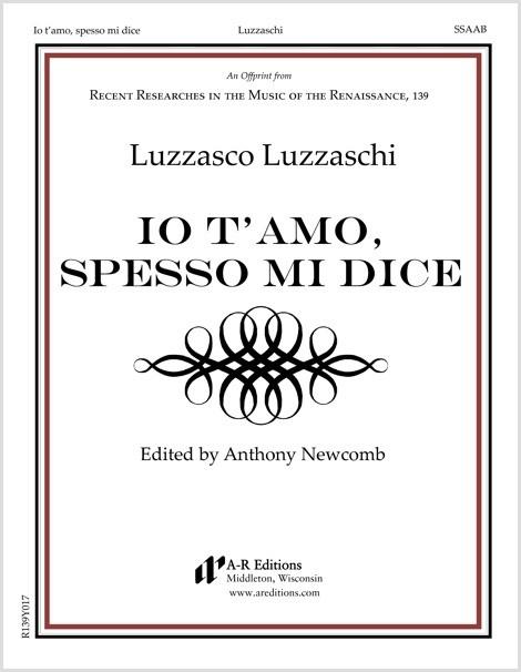 Luzzaschi: Io t'amo, spesso mi dice