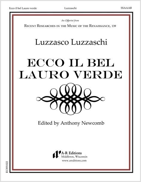 Luzzaschi: Ecco il bel Lauro verde
