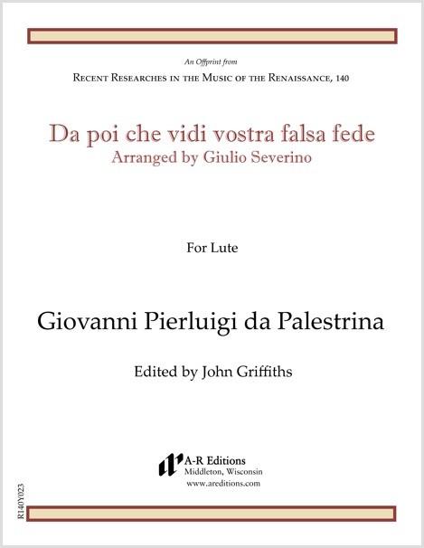 Palestrina: Da poi che vidi vostra falsa fede