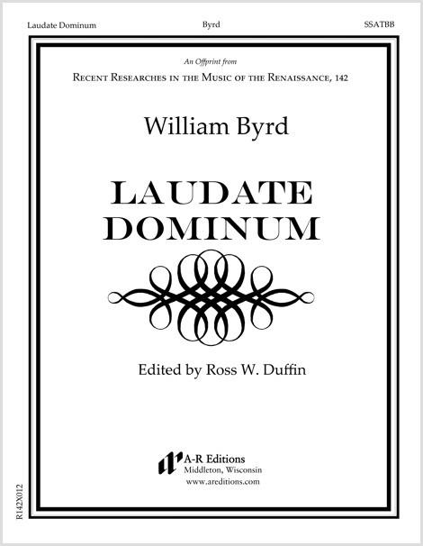 Byrd: Laudate Dominum