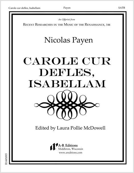 Payen: Carole cur defles, Isabellam
