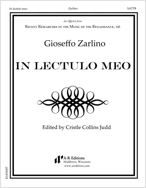 Zarlino: In lectulo meo