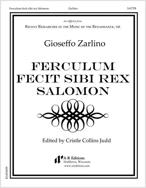 Zarlino: Ferculum fecit sibi rex Salomon