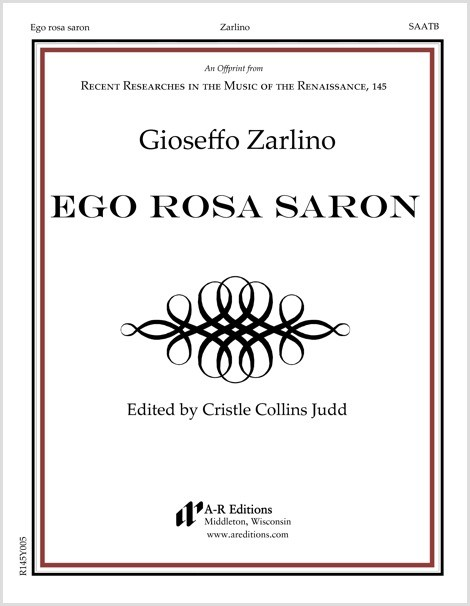 Zarlino: Ego rosa saron