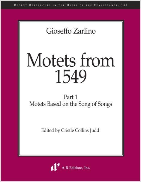 Zarlino: Motets from 1549, Part 1