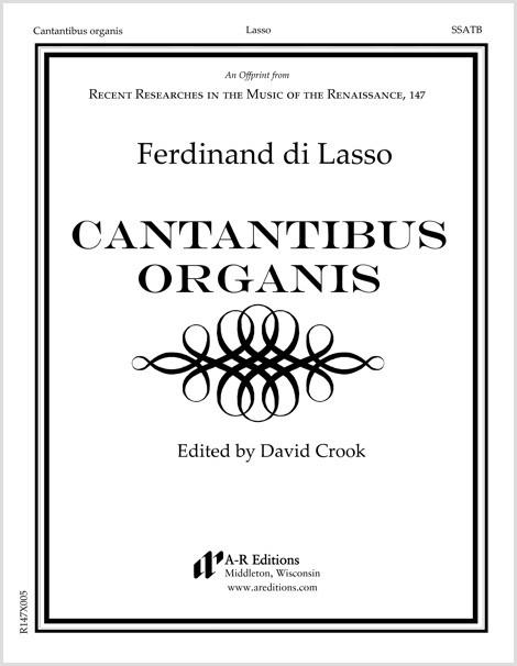 Lasso, F.: Cantantibus organis