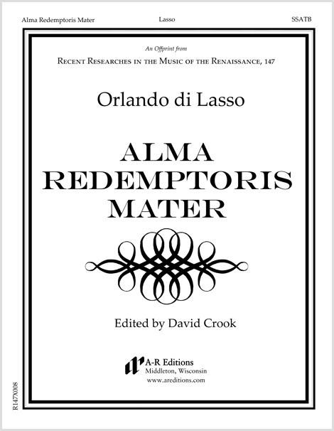 Lasso: Alma Redemptoris Mater