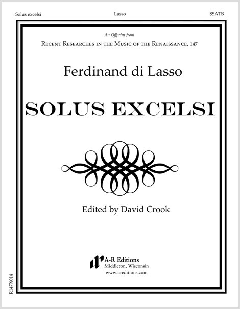 Lasso, F.: Solus excelsi