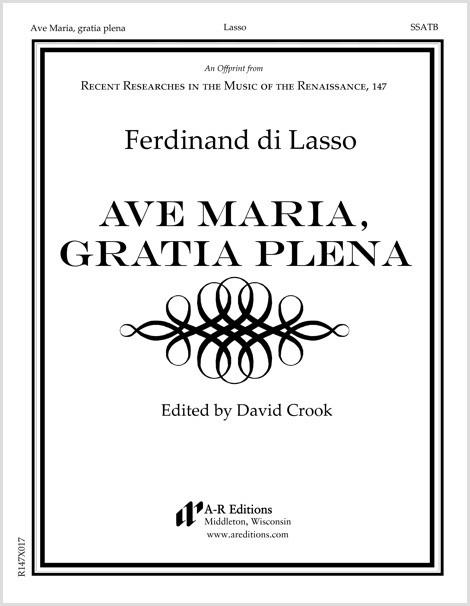 Lasso, F.: Ave Maria, gratia plena